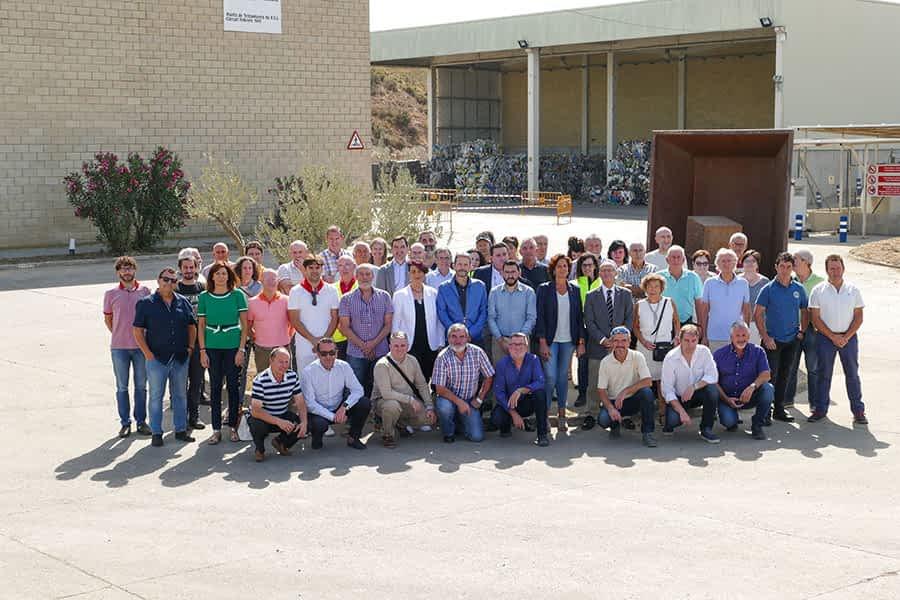 Inauguradas las nuevas instalaciones de la planta de residuos de Cárcar