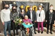 La residencia Santo Domingo celebró el 100 cumpleaños de Francisco Armendáriz