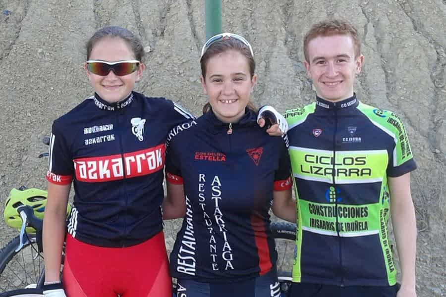 Participación estellesa en los Campeonatos de España de Ciclismo en Carretera