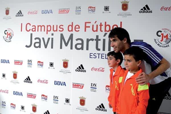 Javi Martínez organiza en Estella su primer campus