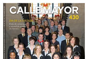 CALLE MAYOR 430 - LA COPA DE LA REINA LLEGA A ESTELLA