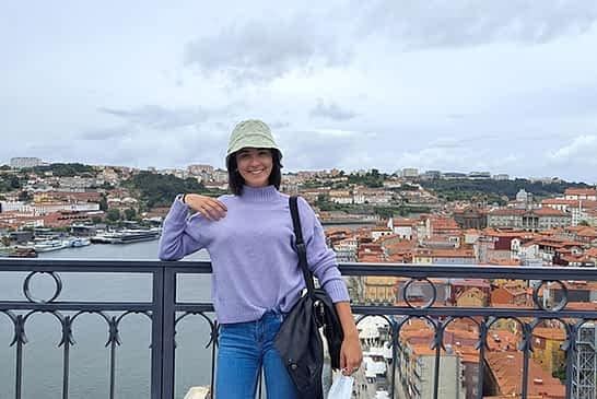 """TIERRA ESTELLA GLOBAL - María Dolores Genes - Erasmus de F.P. en Lisboa (Portugal) - """"Estoy recibiendo una experiencia práctica muy importante"""""""