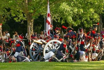 Estella recreó la batalla de Las Améscoas