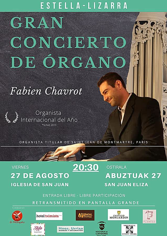 Gran concierto de órgano en la iglesia de San Juan