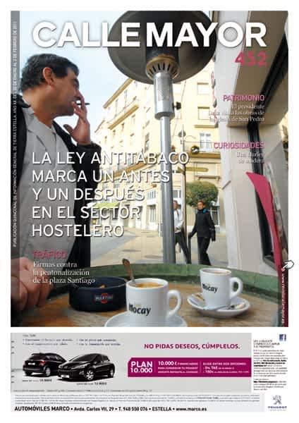 CALLE MAYOR 452 – LA LEY ANTITABACO MARCA UN ANTES Y UN DESPUÉS EN EL SECTOR HOSTELERO