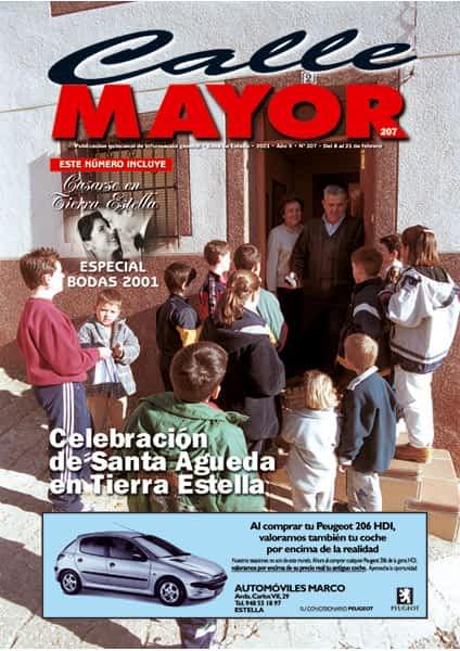 CALLE MAYOR 207 – CELEBRACIÓN DE SANTA ÁGUEDA EN TIERRA ESTELLA
