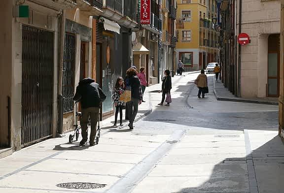 Dos de cada diez personas empadronadas en Estella han nacido en el extranjero