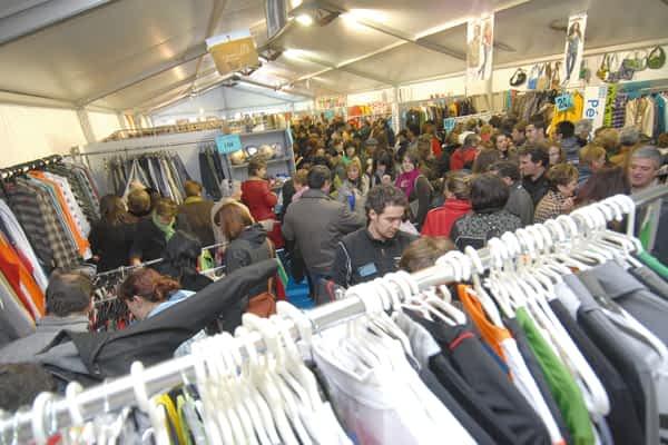 Dos intensas jornadas de venta de stock en Estella
