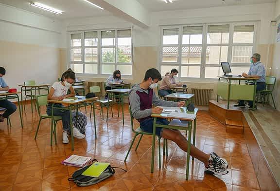Regreso voluntario a las aulas del alumnado de 2º de Bachillerato