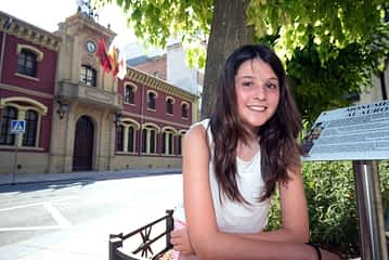 Laura Pinillos. Alcaldesa txiki