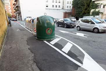 El Ayuntamiento de Estella ordena el tráfico en el aparcamiento de la Inmaculada