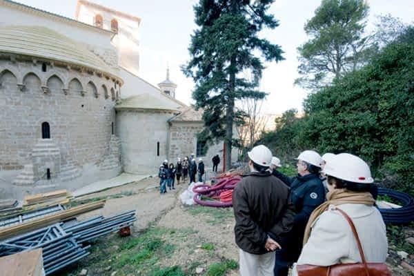 Comienza la cuenta atrás en las obras de San Pedro de la Rúa