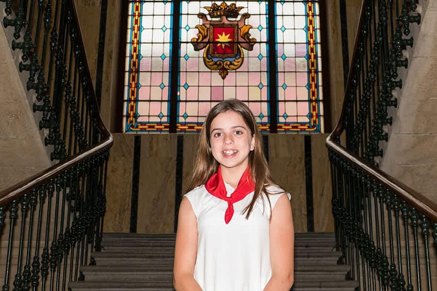 Ayuntamiento txiki – Eva Armendáriz Andueza  – Alcaldesa infantil