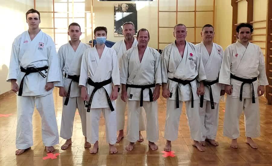 Clase magistral de Karate