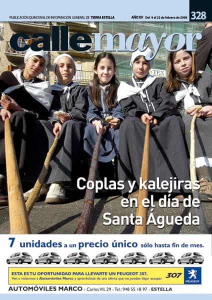 CALLE MAYOR 328 – COPLAS Y KALEJIRAS EN EL DÍA DE SANTA ÁGUEDA