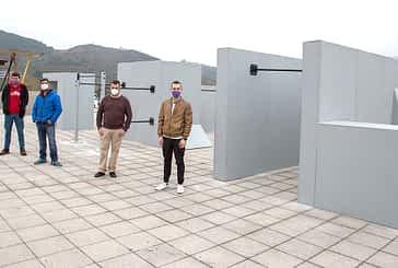 Termina el proyecto del espacio de Parkour Zaldu Park
