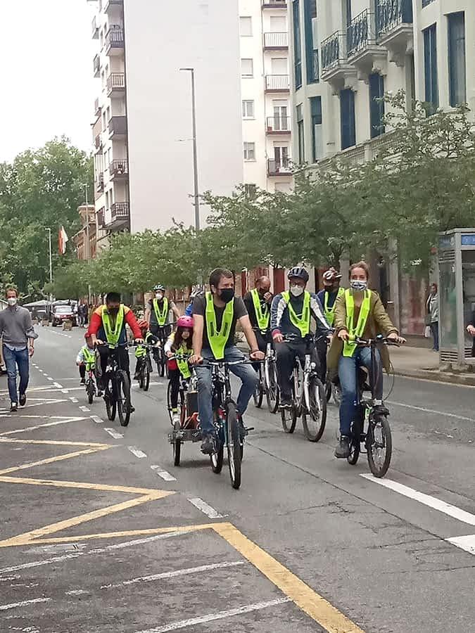 Estella celebró su I Día de la Movilidad en Bicicleta