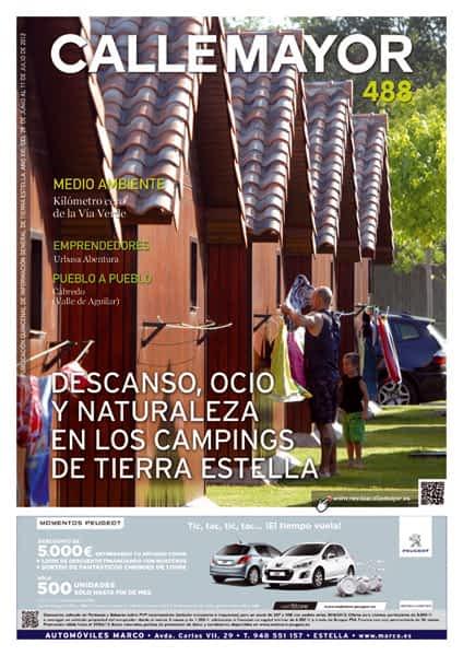 CALLE MAYOR 488 – DESCANSO, OCIO Y NATURALEZA EN LOS CAMPINGS DE TIERRA ESTELLA