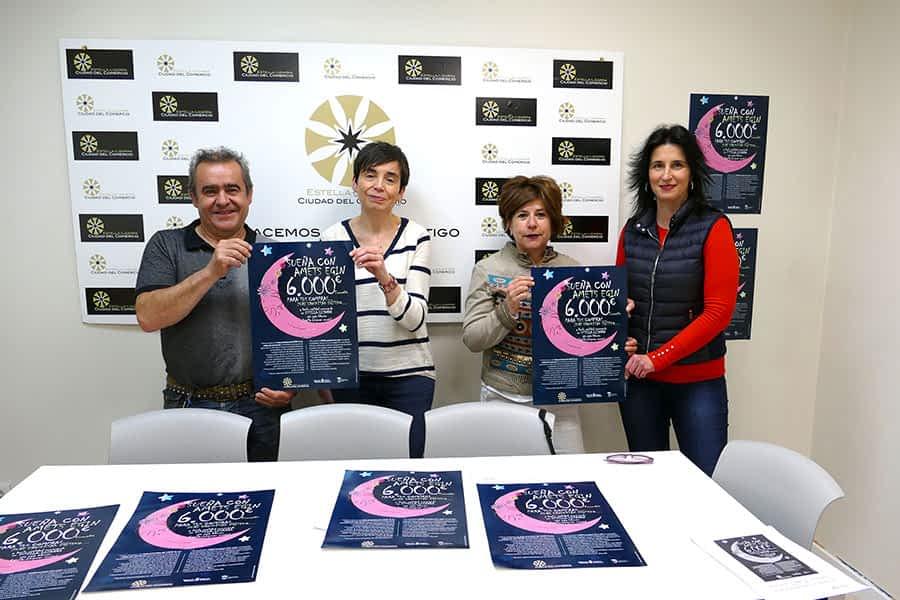 La asociación de Comerciantes, Hostelería y Servicios sortea 6.000 euros en junio