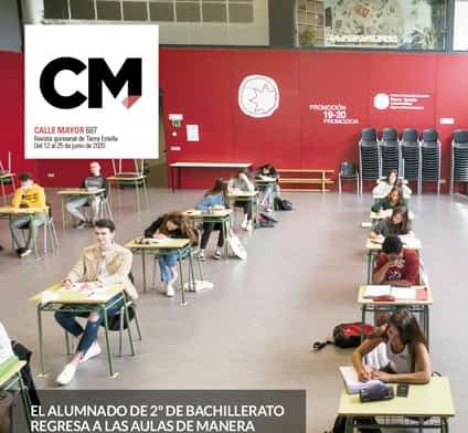 CALLE MAYOR - 687 - EL ALUMNADO DE 2º DE BACHILLERATO REGRESA A LAS AULAS DE MANERA VOLUNTARIA