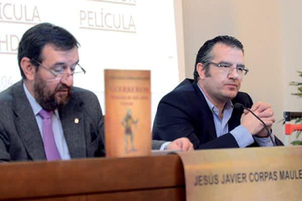 Jesús Javier Corpas presentó su libro 'Mil años  de historias de guerreros'
