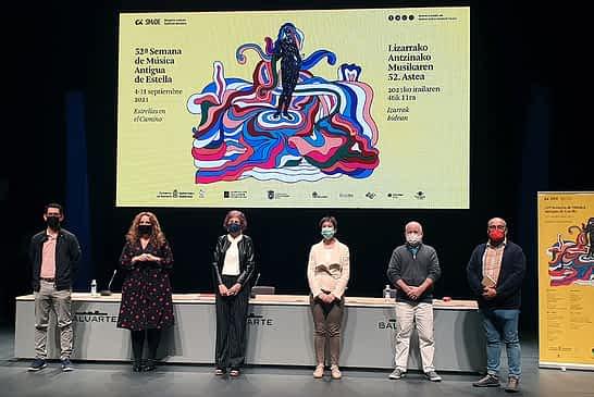 La Semana de Música Antigua de Estella revive las esencias artísticas del Camino de Santiago