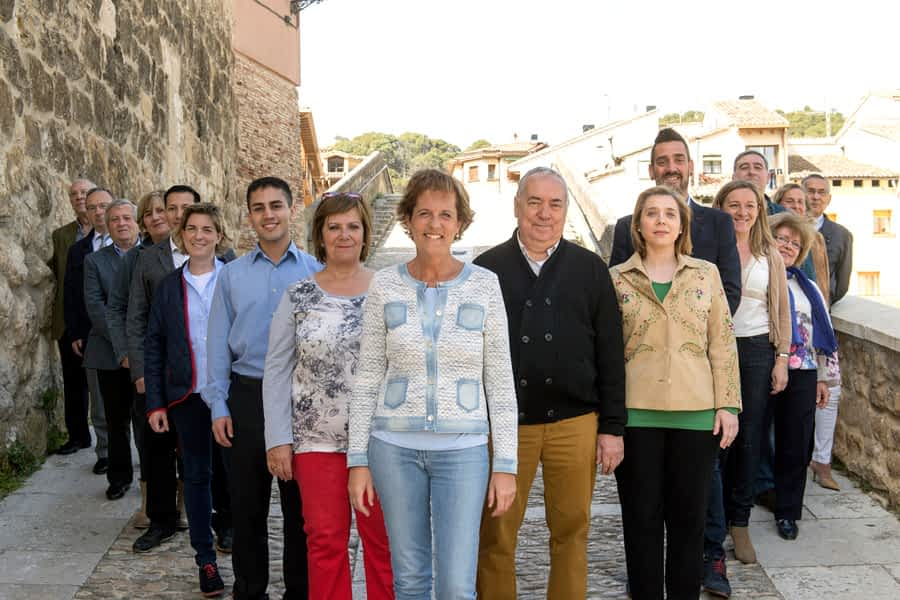 Veteranía y renovación en la lista de UPN para Estella