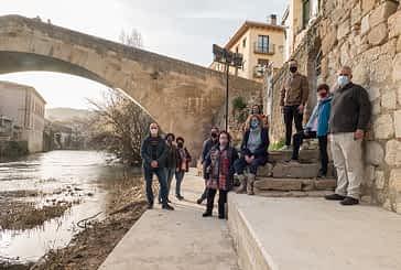 El paseo fluvial del Ega suma ya 275 metros de longitud