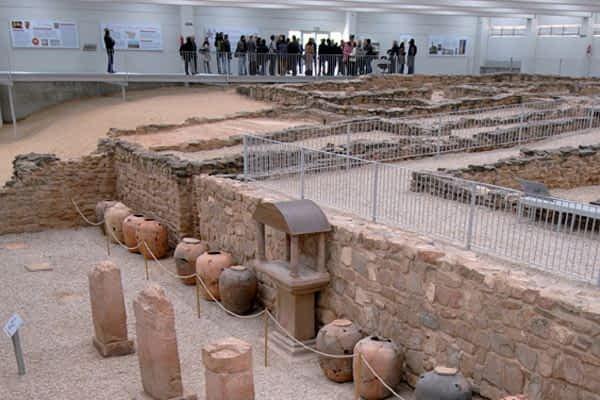 El museo de Arellano entrará en la red de 'Villas romanas de Hispania'