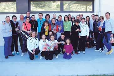 El I torneo de pádel mixto de Ardantze 'Carnicería Los Porches' reunió a 38 parejas