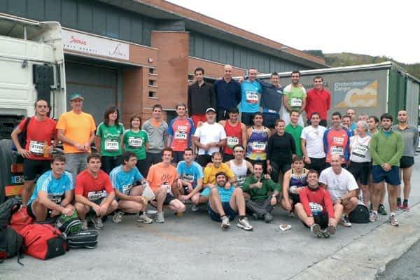 75 corredores de Estella y su merindad participaron en la Behobia-San Sebastián
