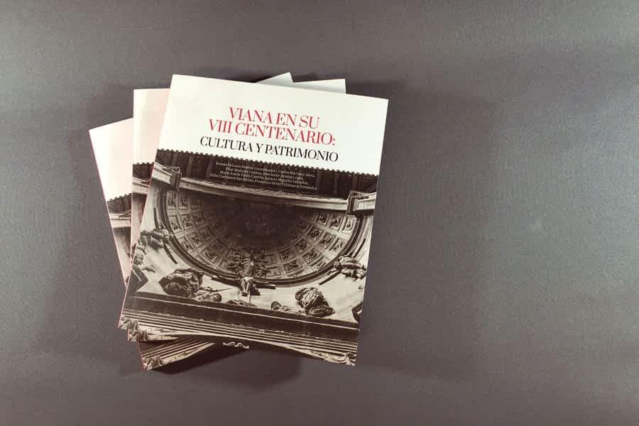 La conmemoración del octavo centenario de Viana, en un libro