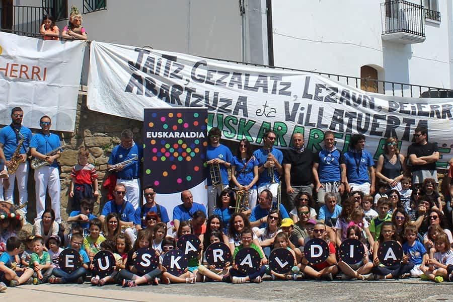 Villatuerta acogió el 2 de junio el XI Día del Euskera de la Mancomunidad de Iranzu