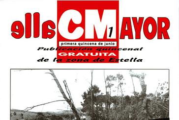 CALLE MAYOR 001 - TROMBA DE AGUA EN LA ZONA DE ESTELLA