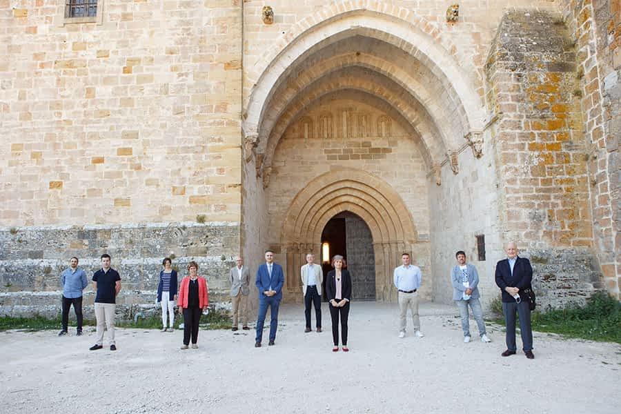 La iglesia del Monasterio de Irache recupera las visitas
