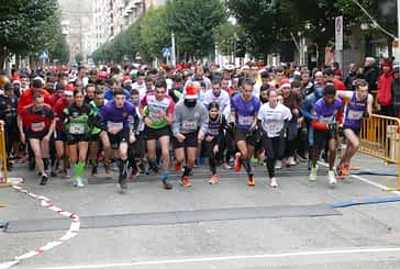 La San Silvestre de Estella congregó a medio millar de corredores