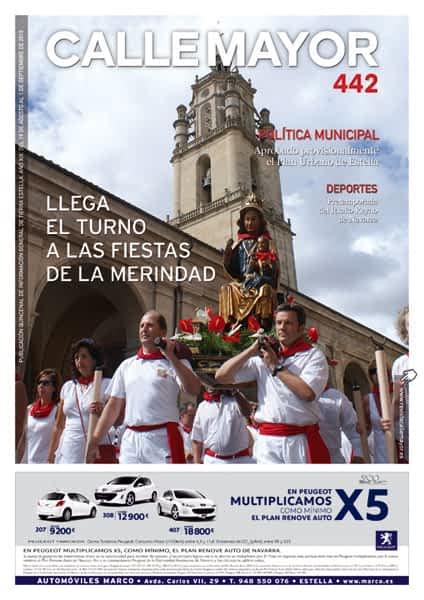 CALLE MAYOR 442 – LLEGA EL TURNO A LAS FIESTAS DE LA MERINDAD