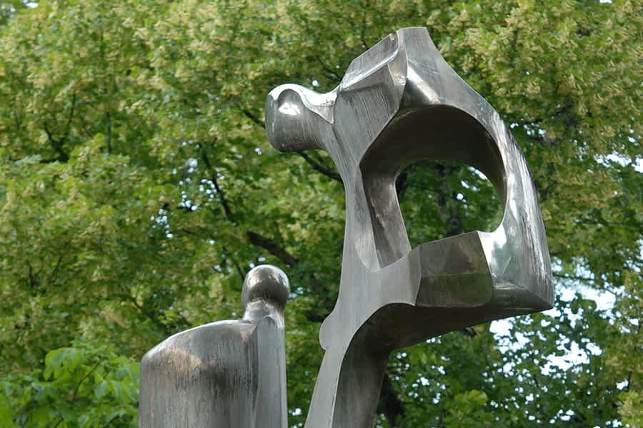 Monumento al Agua en el parque de Los Llanos de Estella-Lizarra