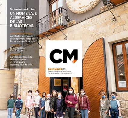 CALLE MAYOR 709 - UN HOMENAJE AL SERVICIO DE LAS BIBLIOTECAS