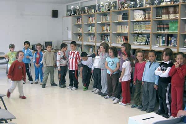 Los colegios de Estella fomentaron la lectura con el Día del Libro