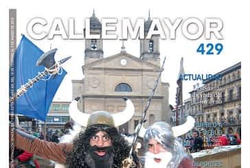 CALLE MAYOR 429 - LOS VALIENTES DISFRUTARON DEL CARNAVAL A PESAR DEL FRIO
