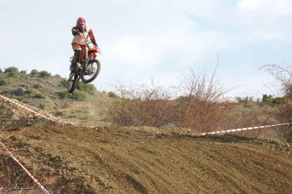 72 participantes en el Motocross de Ayegui