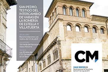 CALLE MAYOR 634 - SAN PEDRO, TESTIGO DEL INTERCAMBIO DE VARAS EN LA ROMERÍA DE ESTELLA Y VILLATUERTA