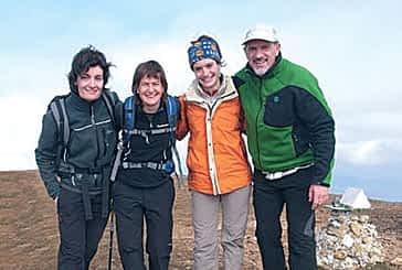 Profesores del IES Tierra Estella, en el 'Trailwalker 2011'