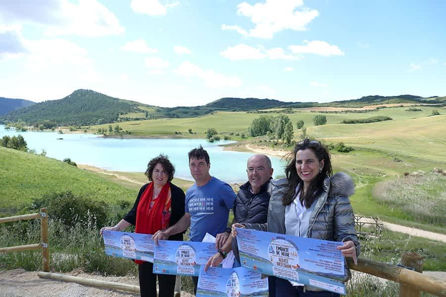 Deporte y medio ambiente para inaugurar la bahía de Úgar