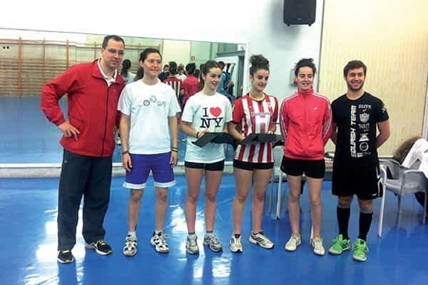 Estella acogió el Campeonato Júnior de Squash