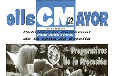 CALLE MAYOR 022 - PREPARATIVOS DE LA PROCESIÓN