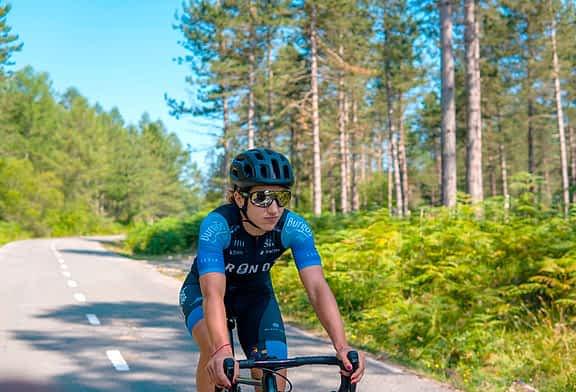 """Ainara Elbusto - """"En la próxima temporada  me gustaría mejorar y  crecer como ciclista"""""""