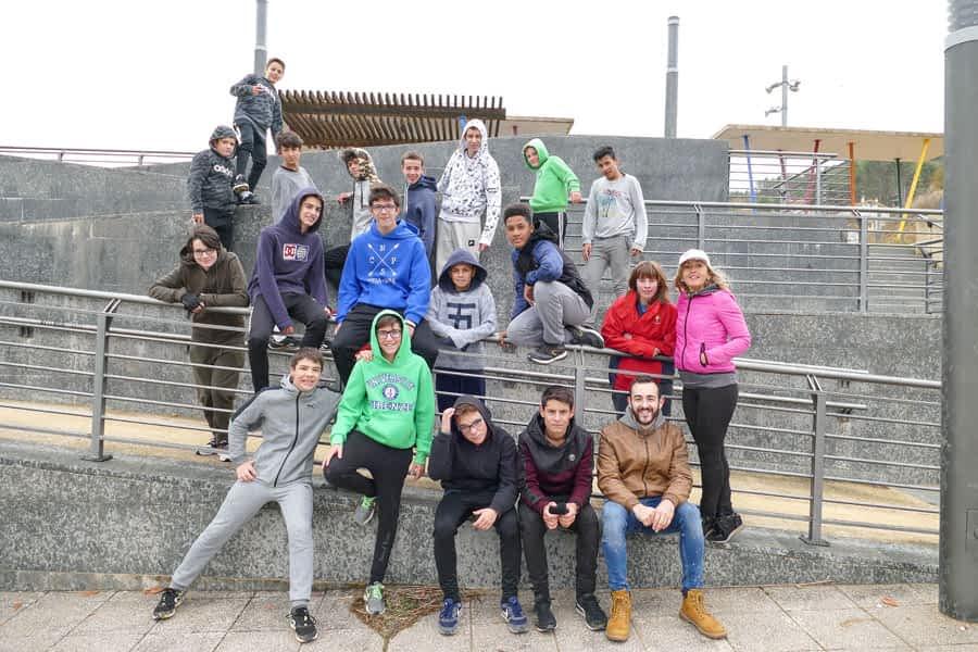 Los jóvenes contarán con el Zaldu Park para la práctica de calistenia y parkour