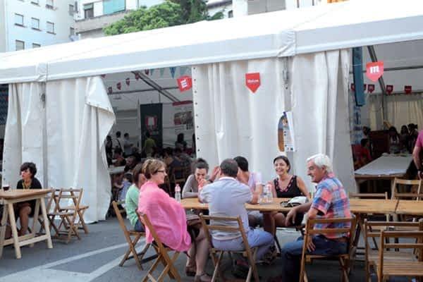 Estella acogió con éxito la tercera edición de la Fiesta de la Cerveza